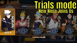 Naruto Online Mobile: Trials Mode and New Character Guess Who? (????OL)