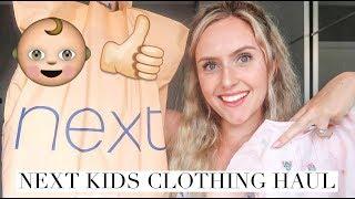 NEXT KIDS CLOTHING HAUL/ GIRLS TODDLER HAUL/ NEXT HAUL JULY 2018