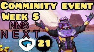 No Man's Sky Next Community Event Week 5 Details and Gameplay