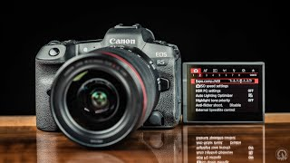 03. Canon R5 – MUST KNOW Camera settings and Menu Options