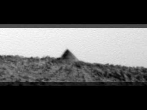 Mars - A Pyramid Shape on Spirit Rover Photo (Linked).