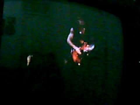 Brad Gillis guitar solo in,´Speak With The Devil´ concert,