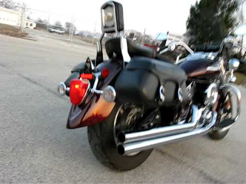 2007 YAMAHA XVS1100 VSTAR SILVERADO Video