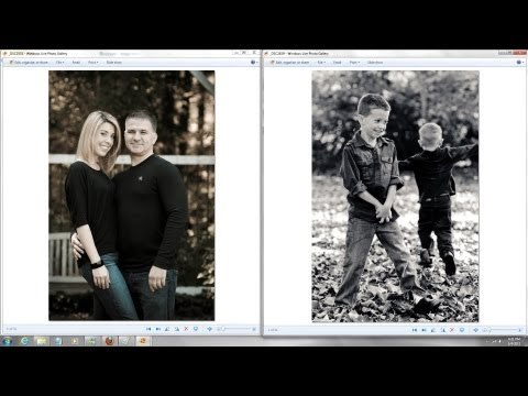Outdoor family portraits -  Children Kids Photography  Tutorial Tips in Natural light w/ diffuser