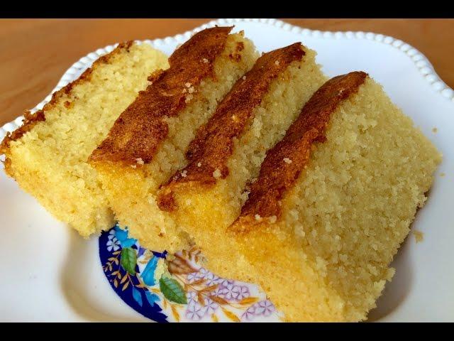Semolina Rava Mawa Cake Kitchen Time With Neha