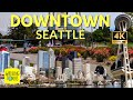 Space Needle, Chihuly Garden and Glass, Museum of Pop Culture | 4K Walking Tour