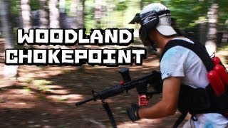 Paintball Woodland Chokepoint