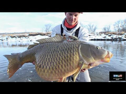 Winter Flyfishing Shaker - Uncut Angling - January 31, 2013