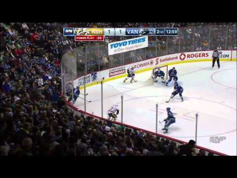 Nashville Predators vs Vancouver Canucks 02.11.2014