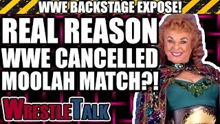 Why WWE CANCELLED Fabulous Moolah Memorial Battle Royal From WrestleMania 34? | WWE Backstage Expose