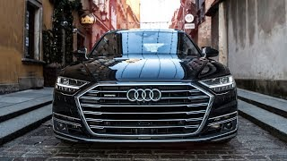 2018/19 AUDI A8 - The high-tech limo - Good enough for the competitors?