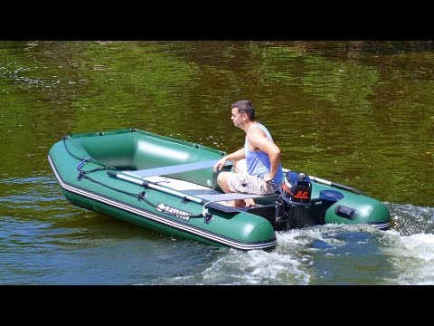 Saturn Inflatable Boat SD330W with 5HP outboard motor