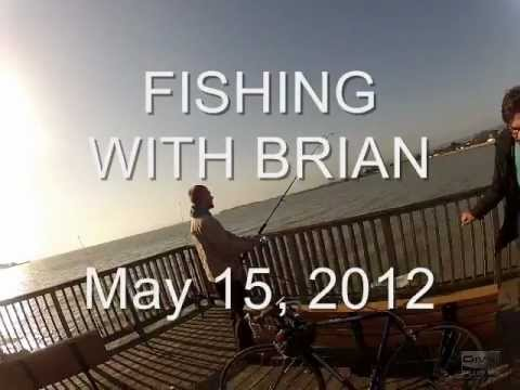 Sebastian Catches a Pregnant Stingray Fishing in the SF Bay with Brian