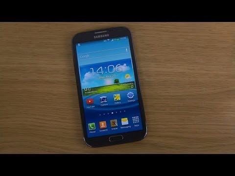 Samsung Galaxy Note 2 LTE GT-N7105 Official Android 4.3 Jelly Bean Update - Review