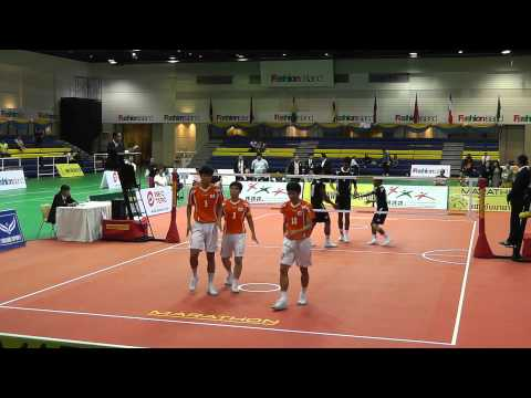 Sepak Takraw King's Cup 2012 - Malaysia Vs. Korea - 3rd Regu (team Event Semi Final) video