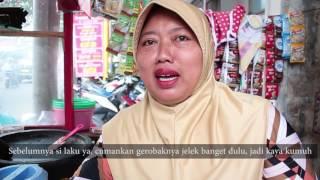 2 Bulan Gunakan Gerobak Perindo, Gado-Gado Ani Astuti Makin Laku