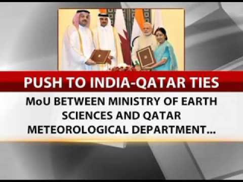 India, Qatar sign six pacts