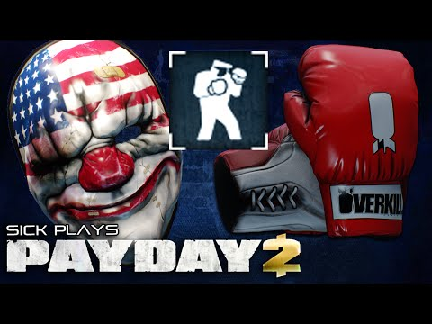 PAYDAY 2 Knockout! The Champ Mask - Knock out a Bulldozer Using the OVERKILL Boxing Gloves