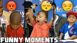 NBA Players Kids FUNNY MOMENTS