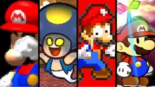 Super Mario Evolution of BAD ENDINGS 1996-2016 (N64 to Wii U)