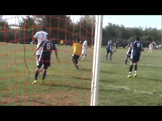 9-8-10 - Frederick denies another Fort Morgan scoring opportunity