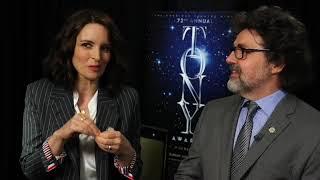 Tina Fey and Jeff Richmond, Tony nominees