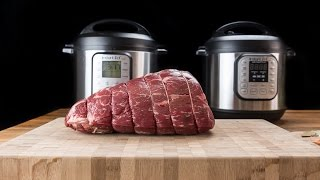 The Best Pot Roast Cooking Time in Pressure Cooker Experiment