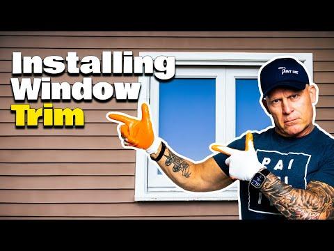 New vinyl windows installation