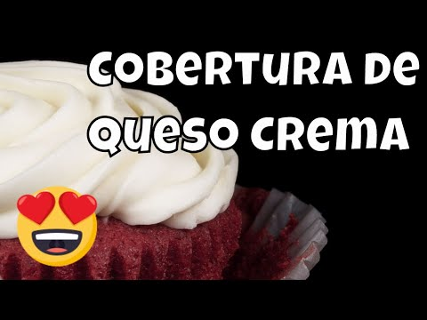 Cobertura o Glaseado de Queso Crema para Pasteles