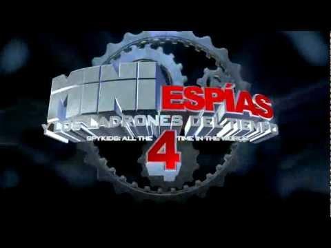 Mini Espias 4 y Los Ladrones del Tiempo / Spot de TV