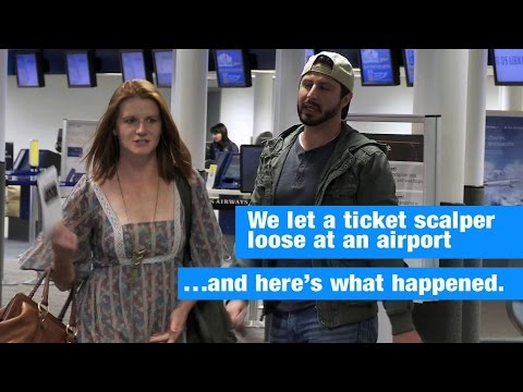 Airline Ticket Scalper Prank | Ticketmaster Verified (Full)