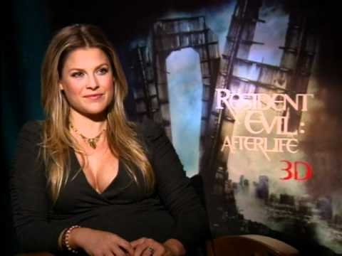 Interview with Ali Larter for Resident Evil: Afterlife 3D