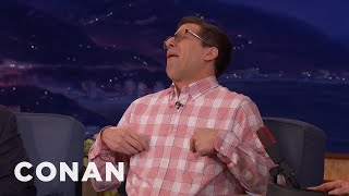 How Andy Samberg Reacts To His Wife's Music  - CONAN on TBS