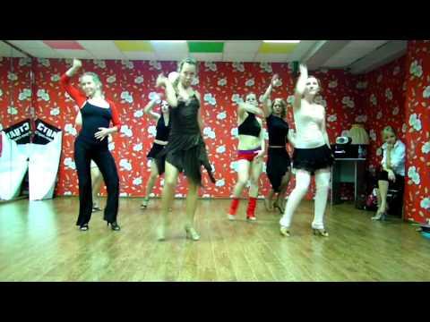 Strip-latina, Pussicat Dolls - 'Hush hush' (bachata remix), choreo by Jane Kornienko
