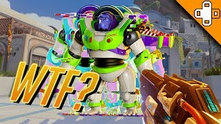 WINSTON IN SPAAAACE! Overwatch Funny & Epic Moments 378