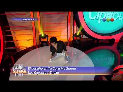 Luz Cipriota es Thalia - Tu Cara Me Suena 2014