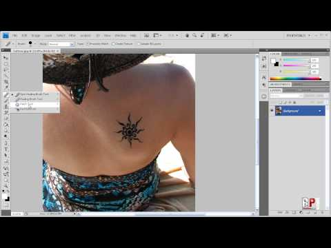 Photoshop CS4 - Removing Tattoo's Ever wondered how to remove a tattoo in