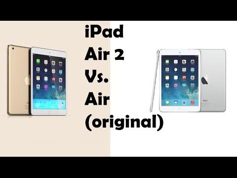 Ipad Compared to Ipad Air ▶ Ipad Air vs Ipad Air 2