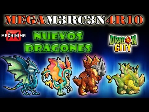 Review Dragones:Nocturno.Cuerno Largo.Libra Dragon City Ep2 (animacion)