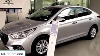 Xe Hyundai Accent 2018 - 2019 1.4 at số tự động bản thường tiêu chuẩn màu bạc