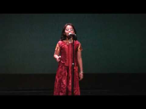 Vishwa Marathi Natya Sammelan 2010 - Shruti solo performance