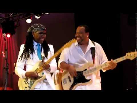 Nile Rodgers&Chic, Chic Cheer/My Forbidden Lover, Damrosch Park, NYC 7-25-12