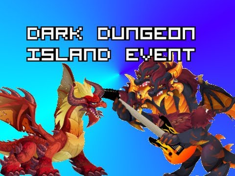 Dragon City - Dark Dungeon Island!