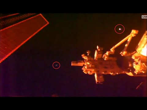 UFO Sightings 2016: NASA Live Feed Space Station Cam Captures Glowing UFO MUST SEE!