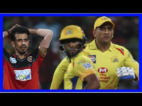Breaking News | IPL Highlights, Chennai Super Kings V Royal Challengers Bangalore, MS Dhoni, AB De