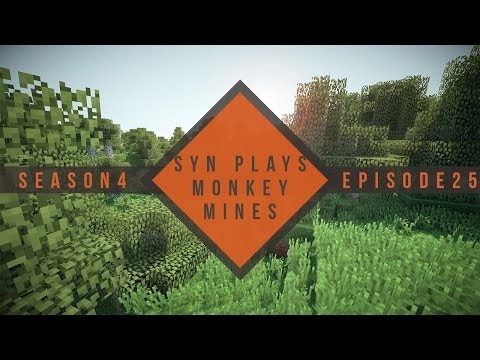 Syn Plays Monkey Mines - 425 - Village in a chunk!