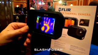 FLIR C2 mobile heat-vision device hands-on