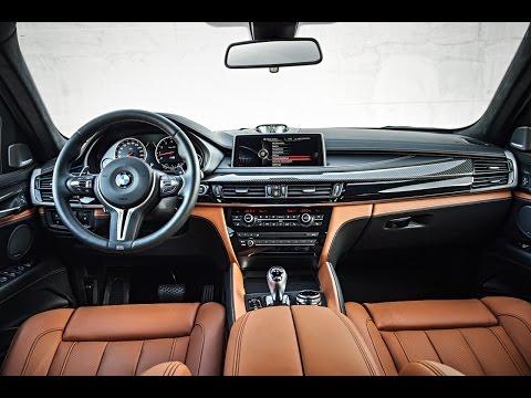 2015 BMW X6 M Interior