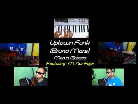Uptown Funk- Mark Ronson ft. Bruno Mars (One Band Cover) - HALF-