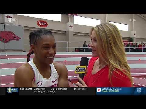 Kiara Parker 60m - 2019 Razorback Invitational